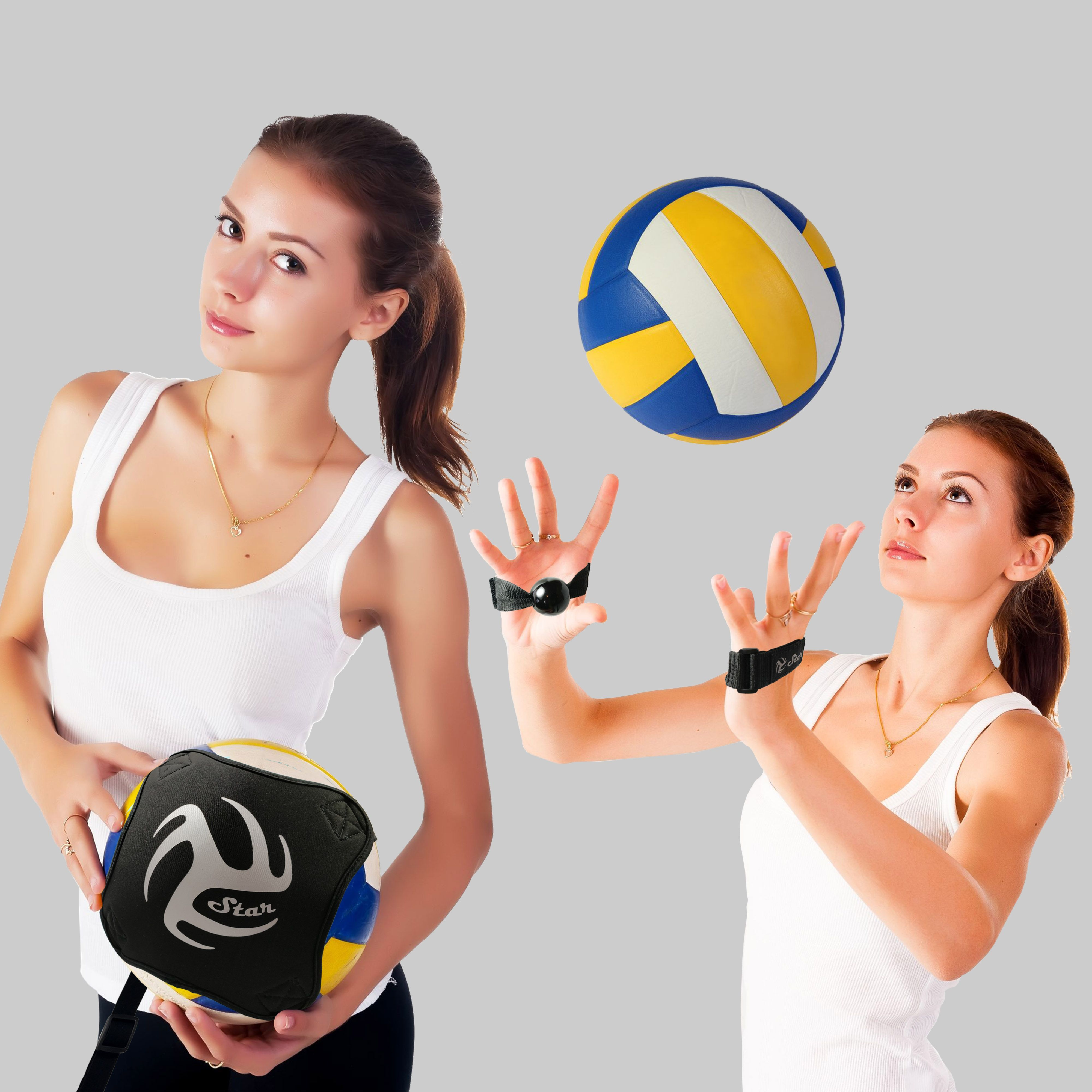 Volleyball Training Equipment 1 Ball Rebounder For Solo Practice Your Serve And Spike 2 Volleyball Training Equipment Volleyball Training Training Equipment
