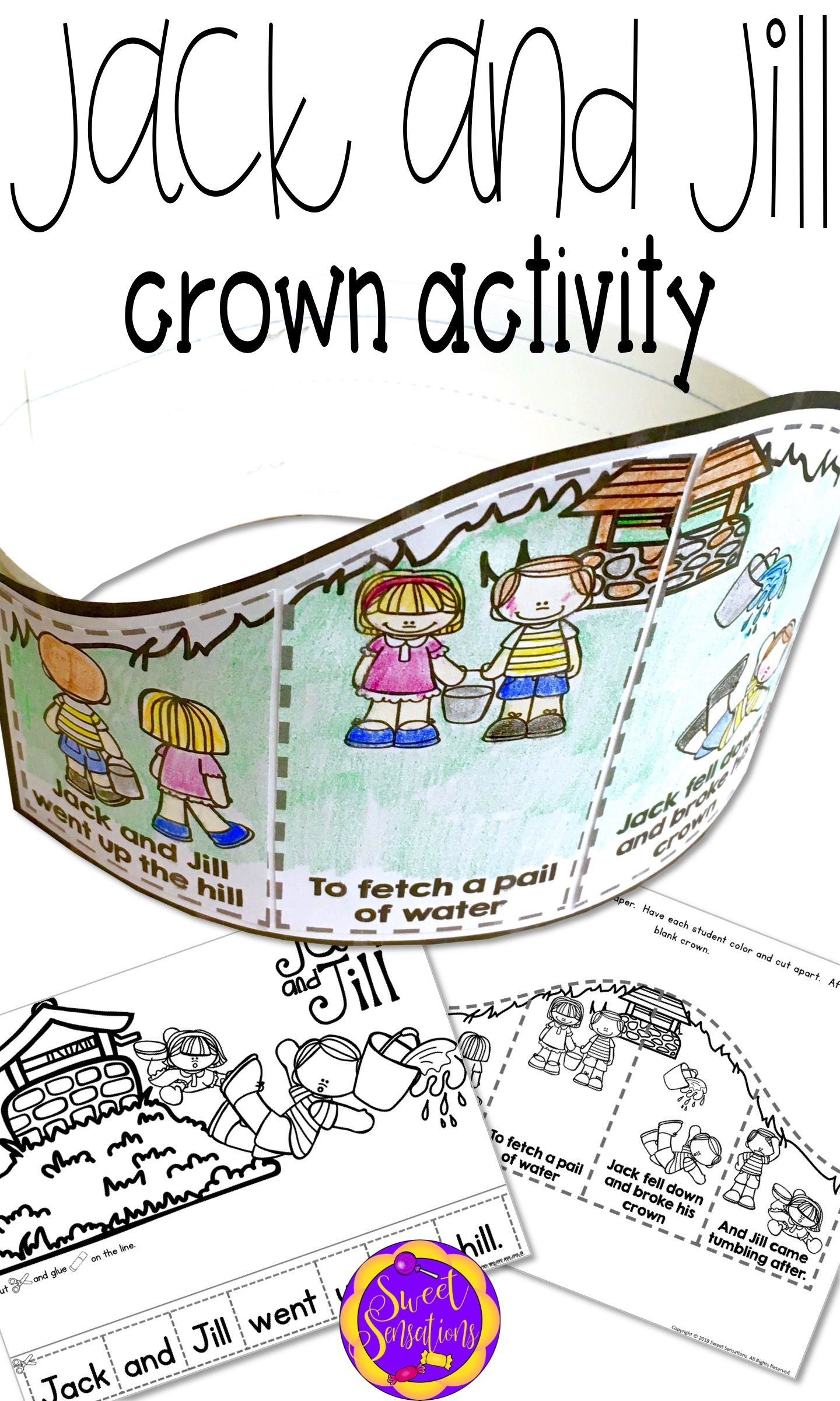 Jack And Jill Craft Activity