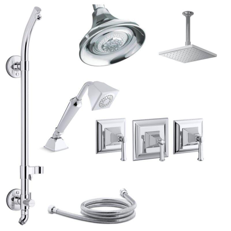 Kohler K Memoirs Dms27hr 4s Shower Systems Shower Heads Rain Head