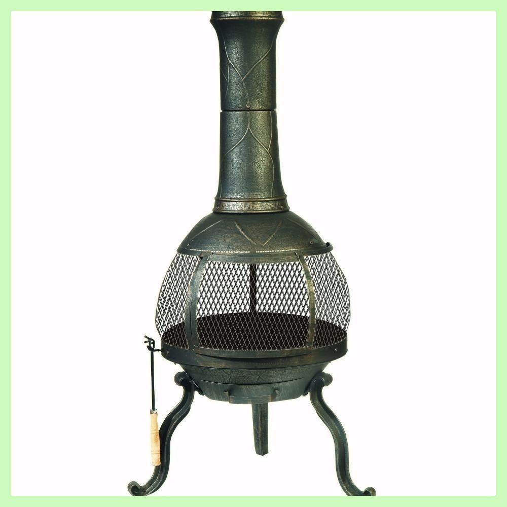 Outdoor Chimenea Fireplace | chimeneas | Pinterest