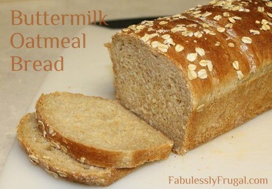 Buttermilk Oatmeal Bread Recipe Pumpkin Bread Food Moist Pumpkin Bread