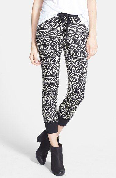JOYPEACE Textured Jogger Pants