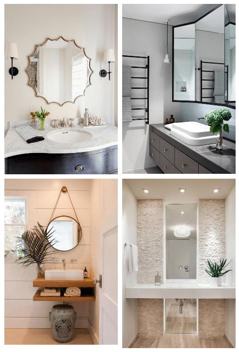 Unique And Inspiring Bathroom Mirror Ideas To Reflect Your Style Bathroom Mirror Vanity Bath Unique Bathroom Mirrors Small Bathroom Mirrors Bathroom Mirror