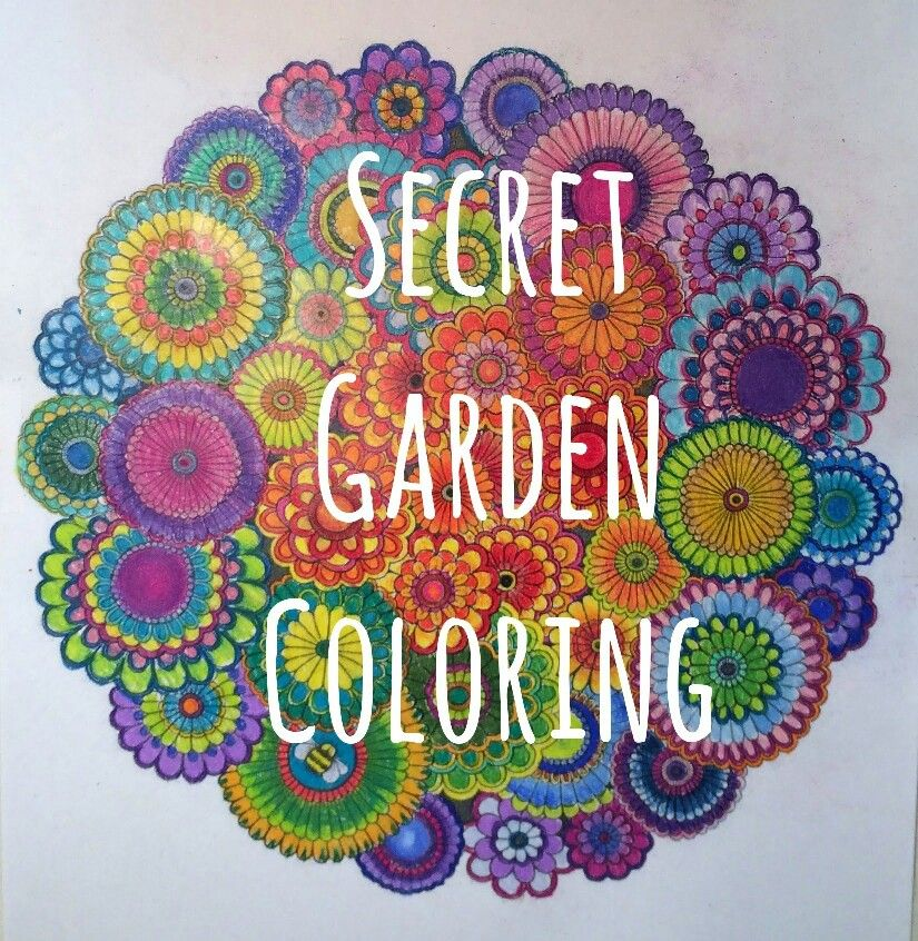 Secret Garden Coloring Book Rainbows Pinterest Secret Garden