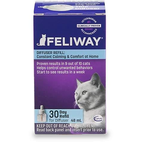 Feliway 30 Day Diffuser Refill For Cats Pack Of 2 Petco Diffuser Refills Petco Calming Cat