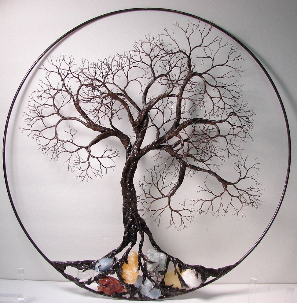 5 must knows about the tree of life wire trees wall for Tree wall art