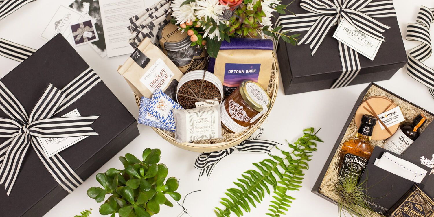 Toronto Gift Boxes and Gift Baskets - Modern, curated and custom gift baskets…