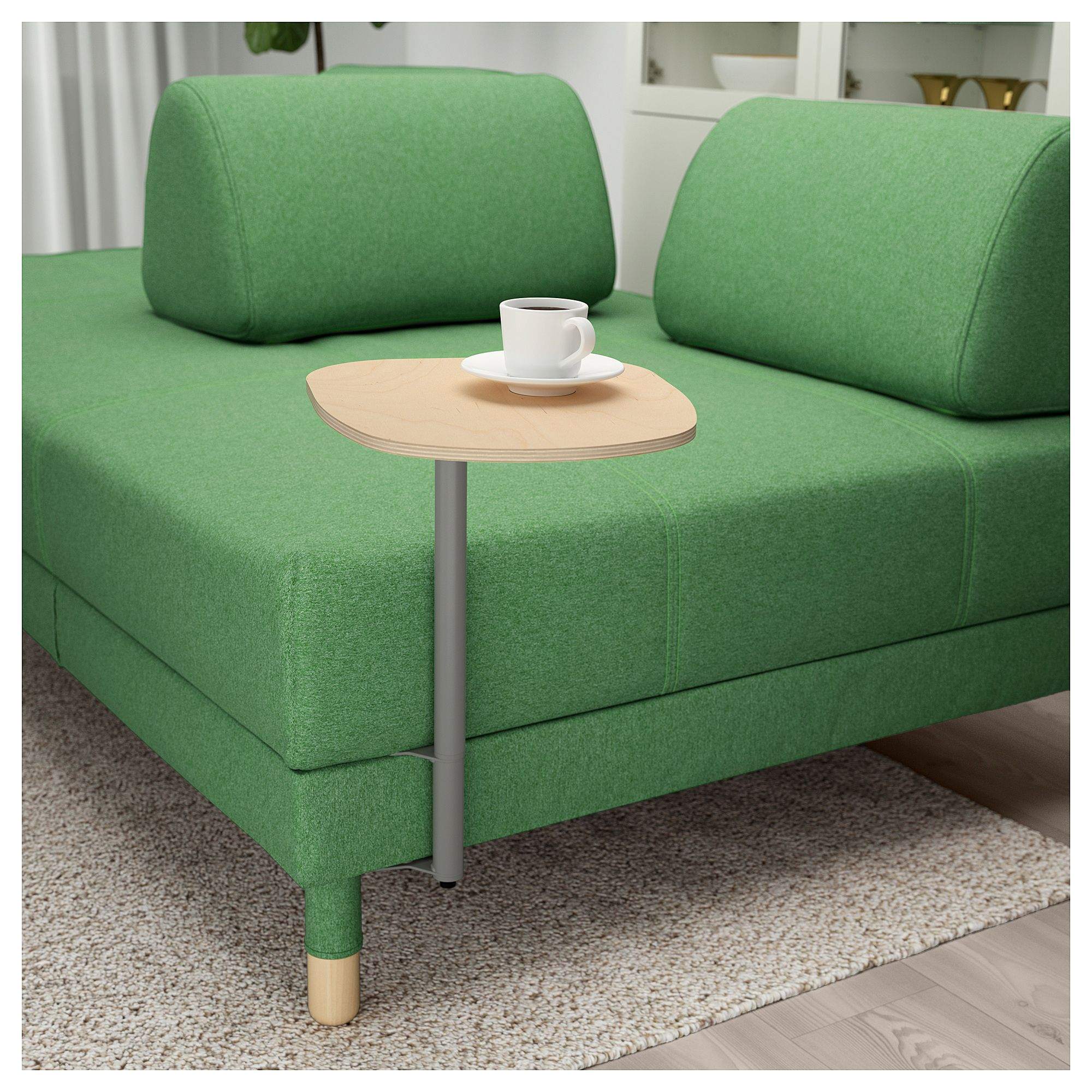 Flottebo Bettsofa Mit Ablage Lysed Grun In 2019 Products