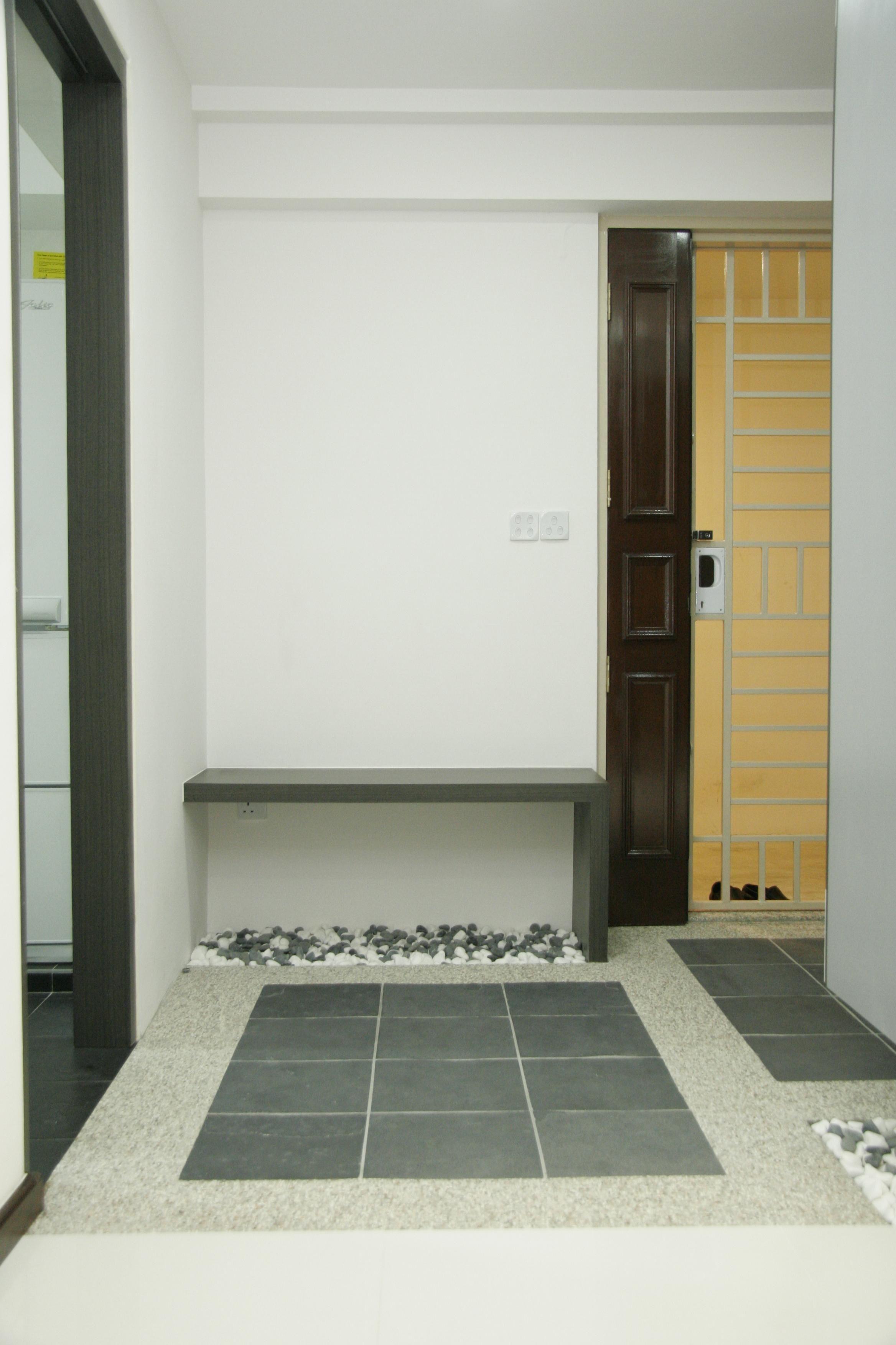 Modern Hdb Decor: Modern Home Interior Design, Modern Entryway