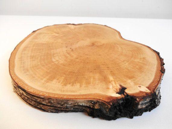 6 Quot 7 Quot Birch Wood Slice Tree Slice Trunk Slice Serving