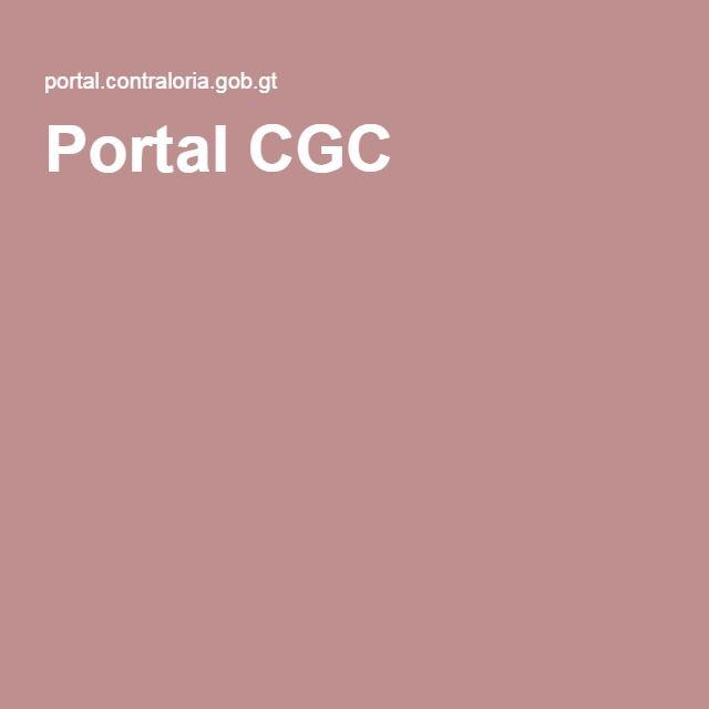Portal CGC