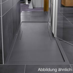 Villeroy Boch Squaro Rectangular Shower Tray Matt Grey Shower