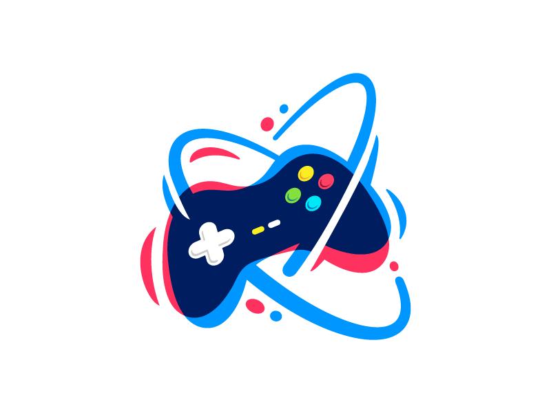 Gamepad Game Logo Design Game Logo Video Game Logos