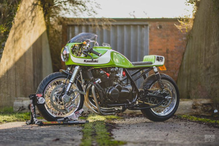 The Nineties are calling: A shed-built Kawasaki Zephyr