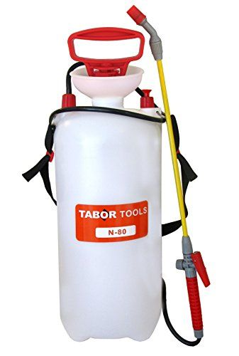 Tabor Tools 2gallon Pump Sprayer With Shoulder Strap Ideal For Pest Control And Weeds Killers Also Suitable For Mil Sprayers Cleaning Solutions Lawn And Garden
