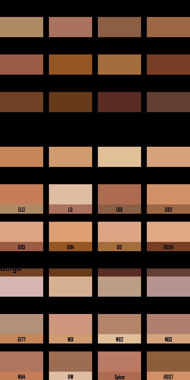 Kryolan Ultra Foundation Palette 12 Colors 9004 Kryolan