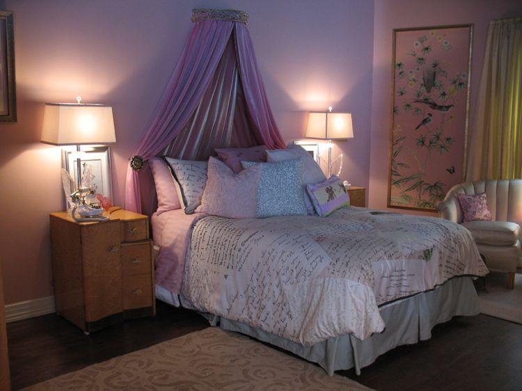 Jugendzimmer Mädchen Ideen Alison Baldachin Prinzessin Bett #pretty #girls