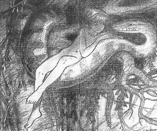 mowgli dibujado por Joubert en 1947