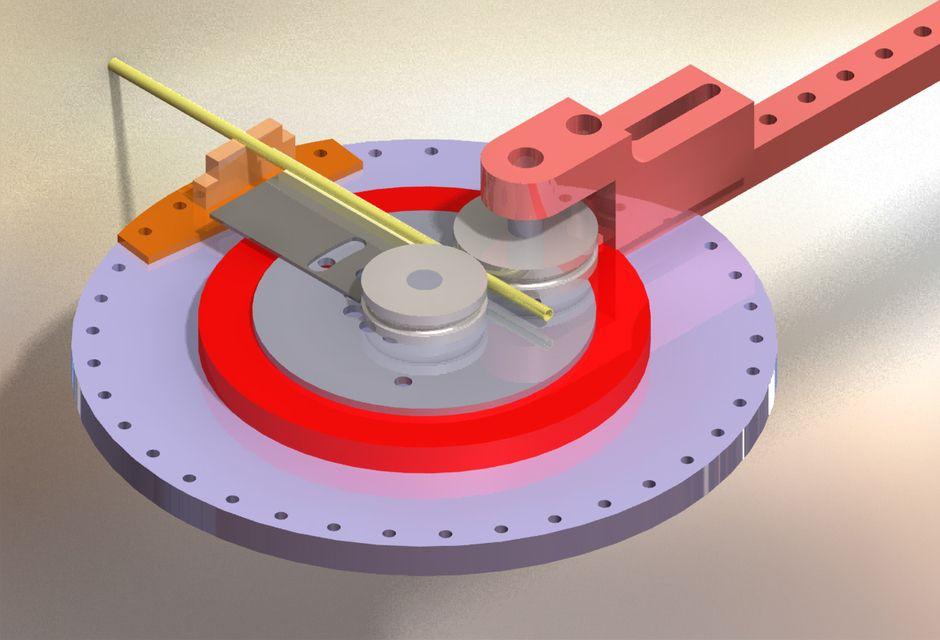TUBE BENDER, TUBE ROLLER - SOLIDWORKS,STEP / IGES - 3D CAD