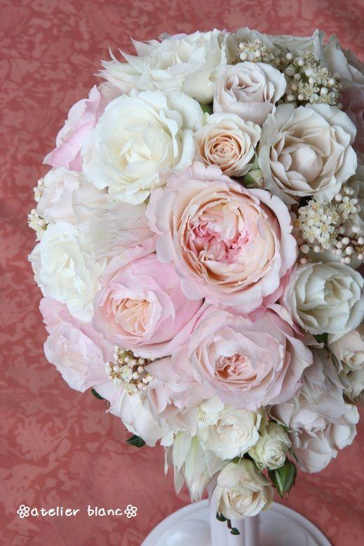 tear-drop bouquet