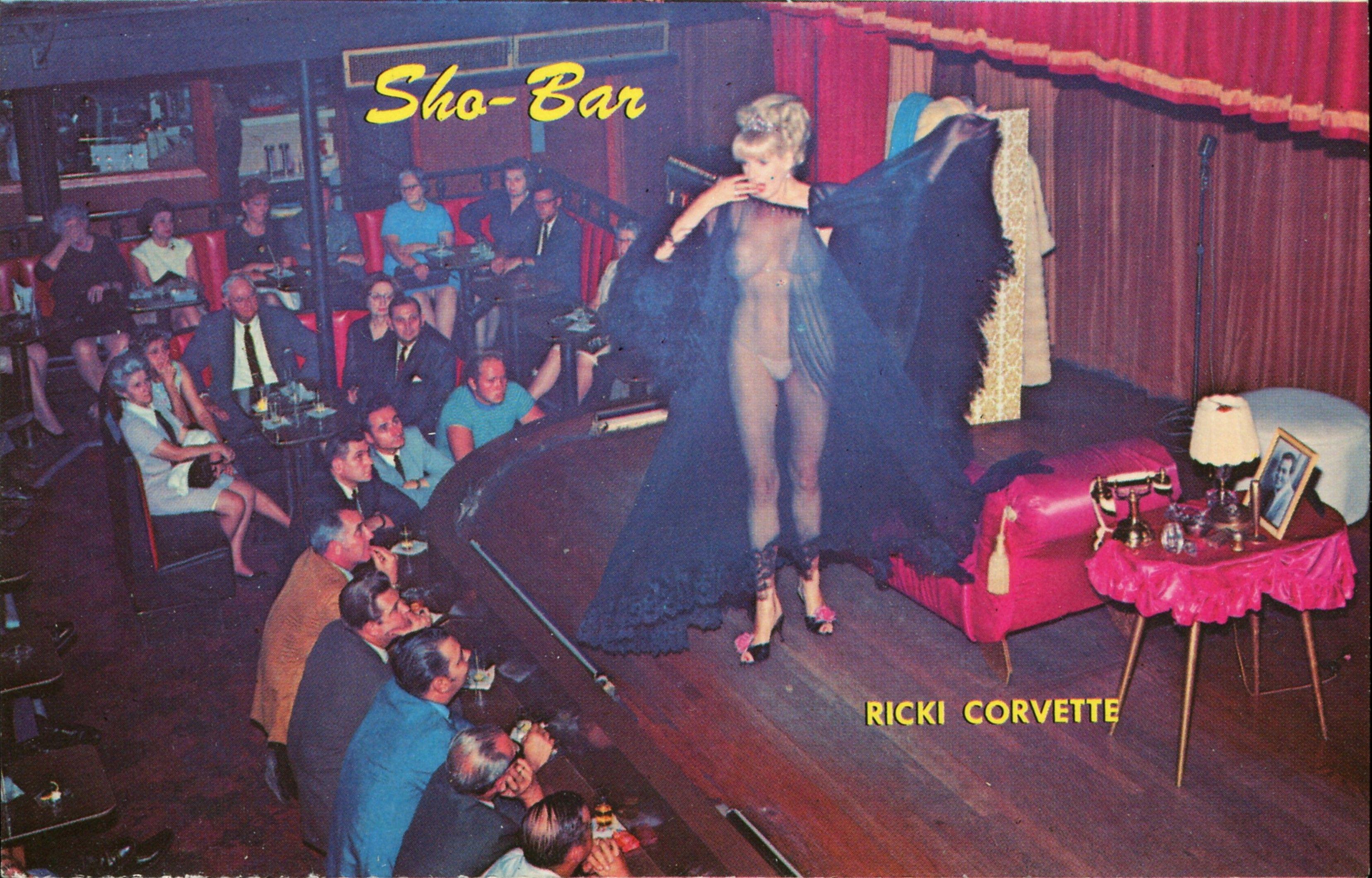 Ricki Corvette, World\'s Tallest Exotic Dancer, at the Sho-Bar, New ...
