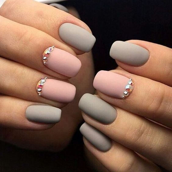 40+ Matte Nails That Look Cute For Fall #28 - 40+ Matte Nails That Look Cute For Fall #28 Matte Black Nails