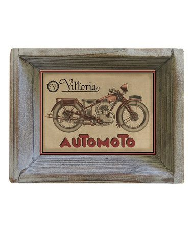 Look At This Zulilyfind Motorcycle Postcard Tray By Floating
