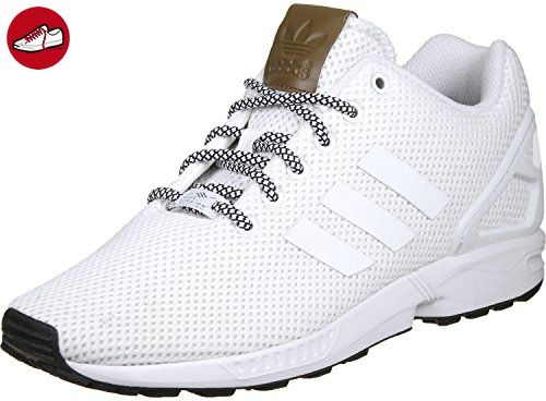 Adidas Unisex-Erwachsene ZX Flux Sneaker Dekollete, Weiß (Footwear White/Footwear  White