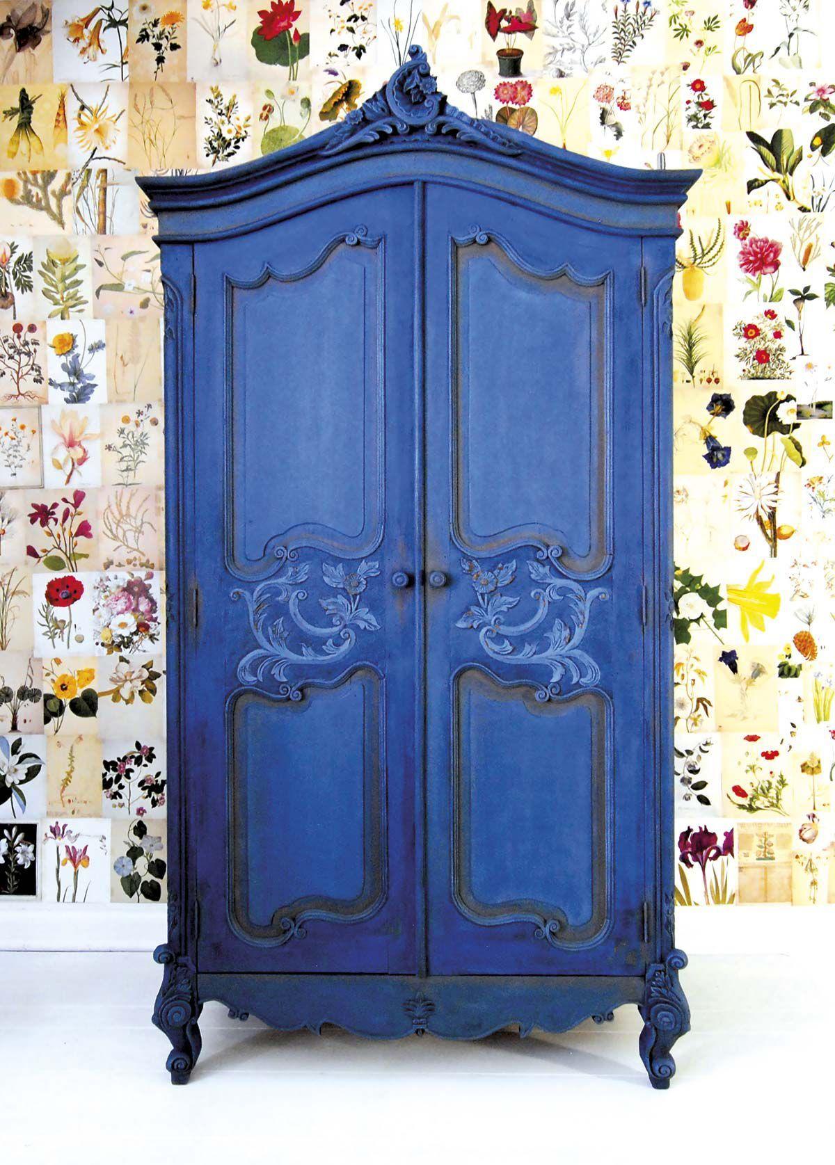 C mo restaurar un viejo armario muebles viejos pintados - Pintar muebles viejos ...
