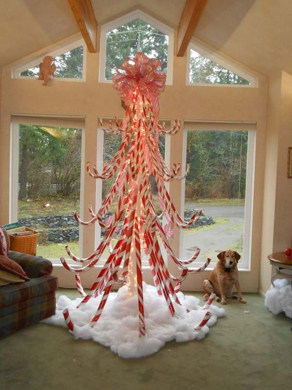 10 exciting christmas decorations created from pool noodles christmas pinterest christmas christmas decorations and candy cane