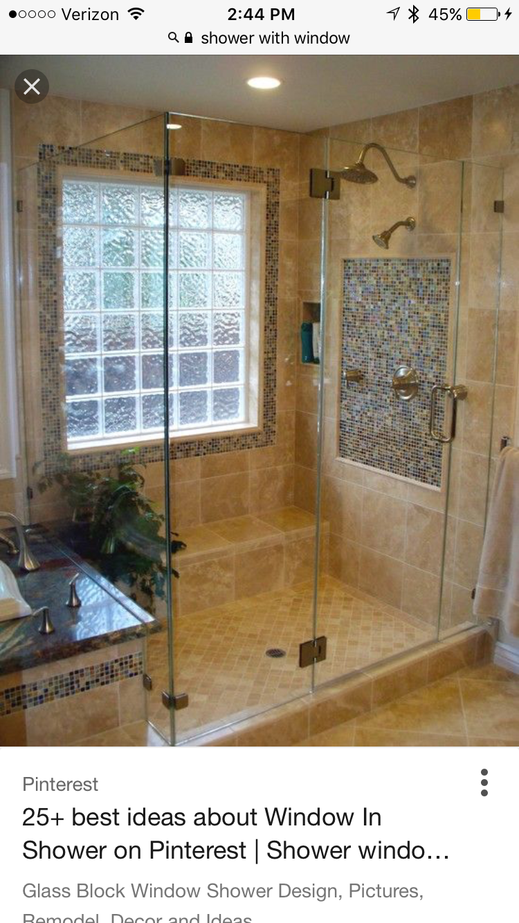Shower Window With Images In