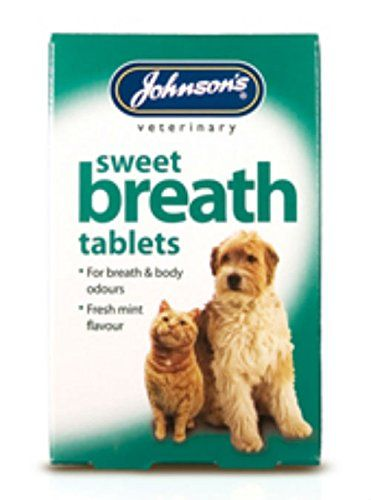 Johnsons Sweet Breath Tablets Dog Nd Cat 30 Pack Of 6 Read More Info By Clicking The Link On The Image Cathealthsupplies Dog Cat Cats Cat Health