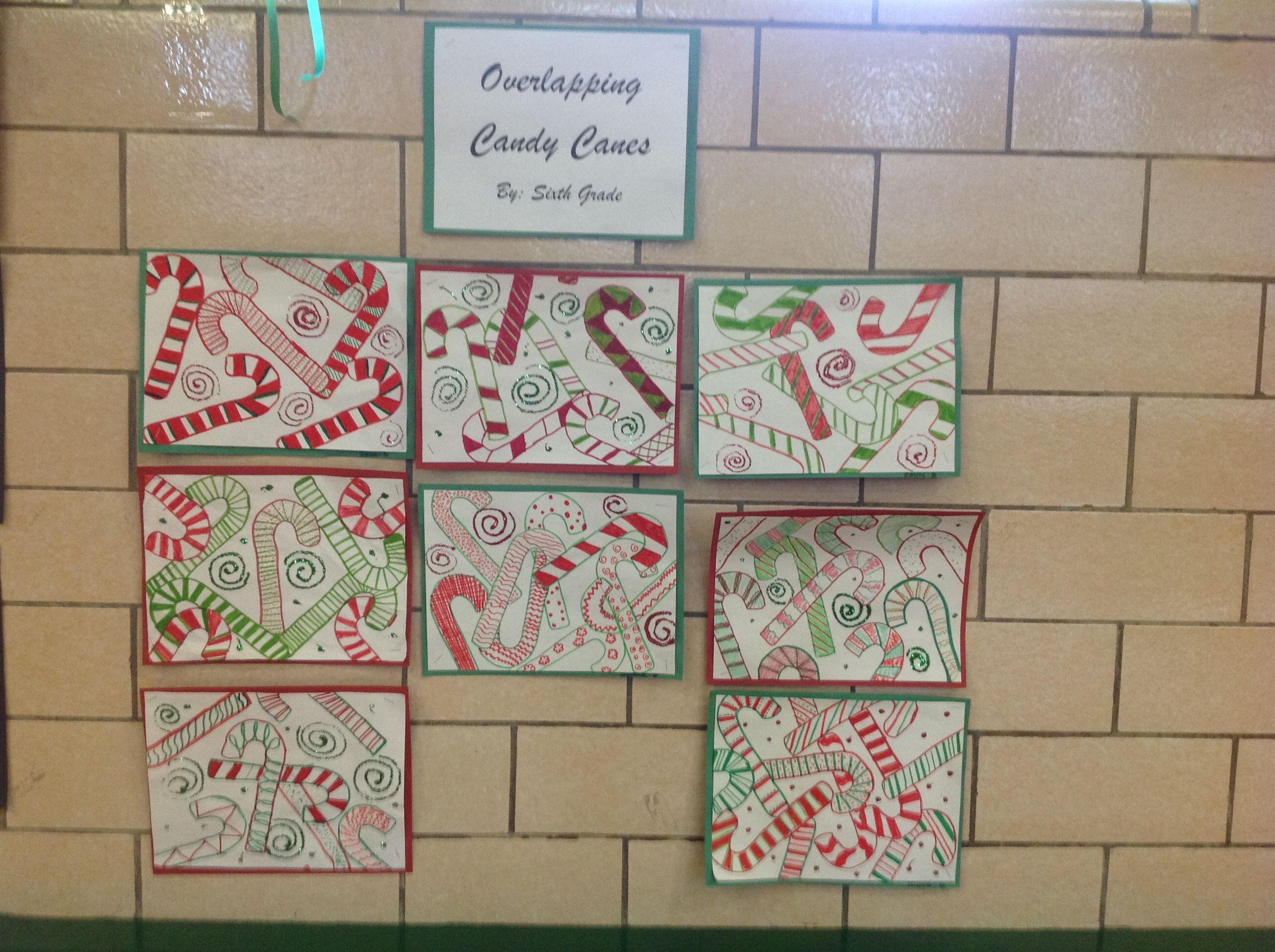 Overlapping Candy Canes Scsart