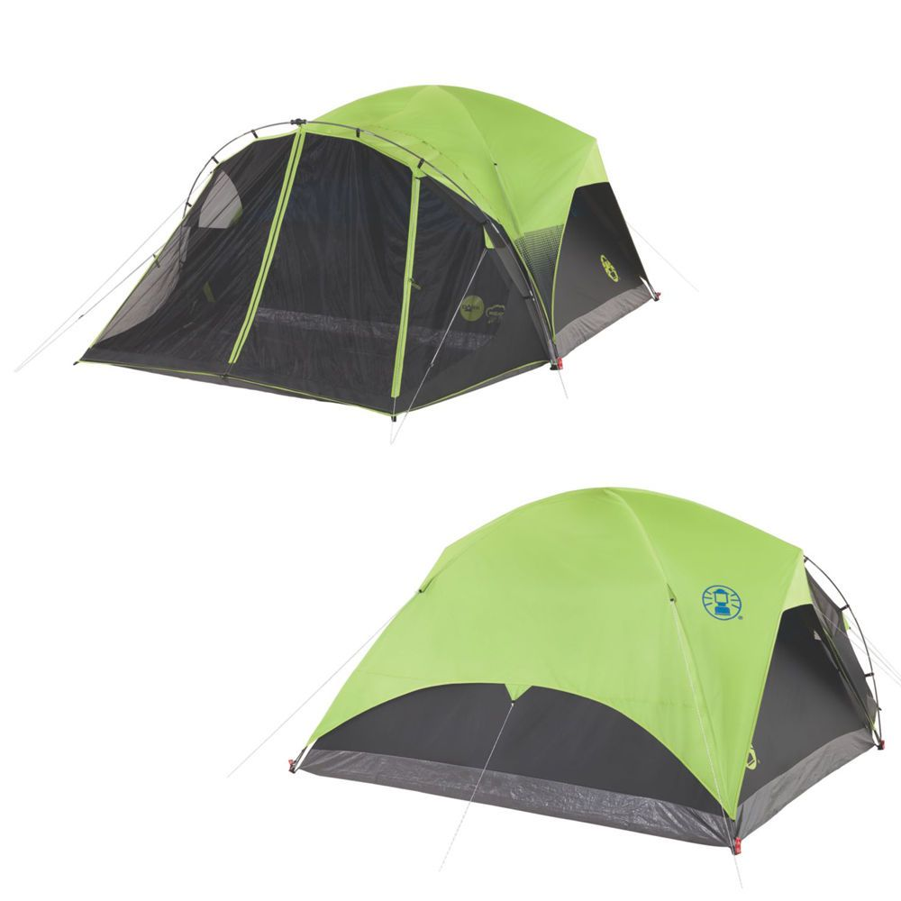 Coleman Carlsbad 6P Fast Pitch Dome C&ing Tent with Screen Room  sc 1 st  Pinterest & Coleman Carlsbad 6P Fast Pitch Dome Camping Tent with Screen Room ...
