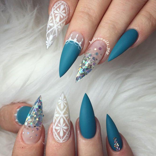27 glamorous stiletto nail designs youll adore stiletto nail 27 glamorous stiletto nail designs youll adore prinsesfo Choice Image