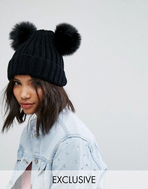 97b8387e8a460a Always in the market for more/backup double pom hats - black, maroon,  cream/white, grey etc.