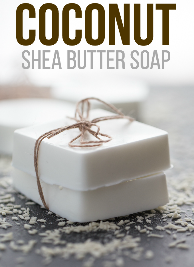 Coconut Shea Butter Soap - Simply Stacie