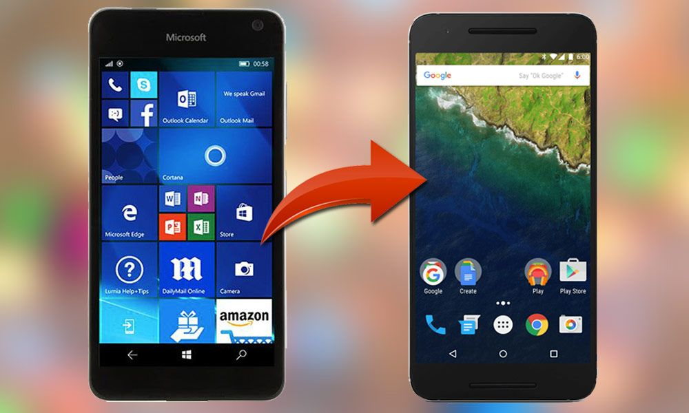 How to Switch from Windows Phone to Android Phone? | Windows