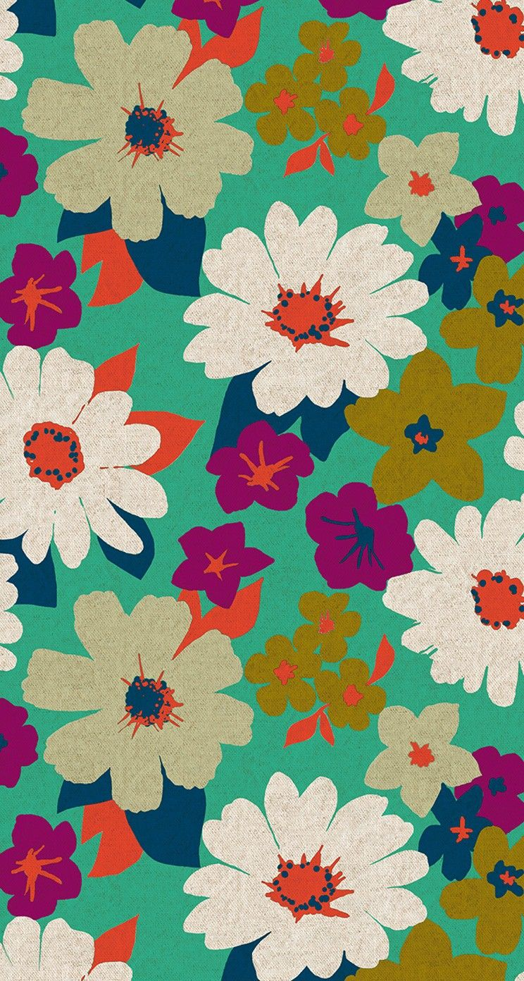 Floral Backgrounds For IPhone Group 744x1392 Vintage 34 Wallpapers