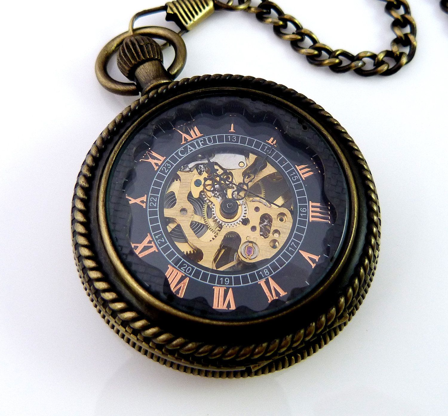 Steampunk pocket watch  Steampunk pocket watch, key and necklace | Steampunk | Pinterest ...