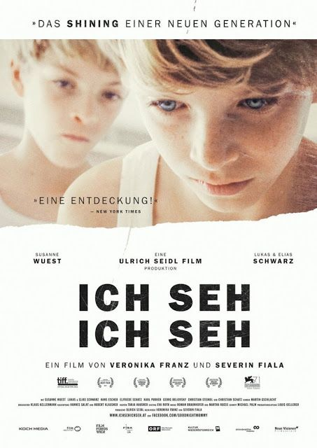 Ich Seh Ich Seh 2014 With Images Mommy Movie German Movies