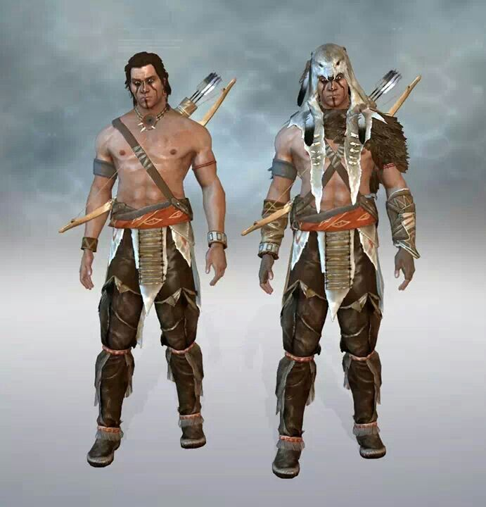 wolf assassins creed 3 outfits