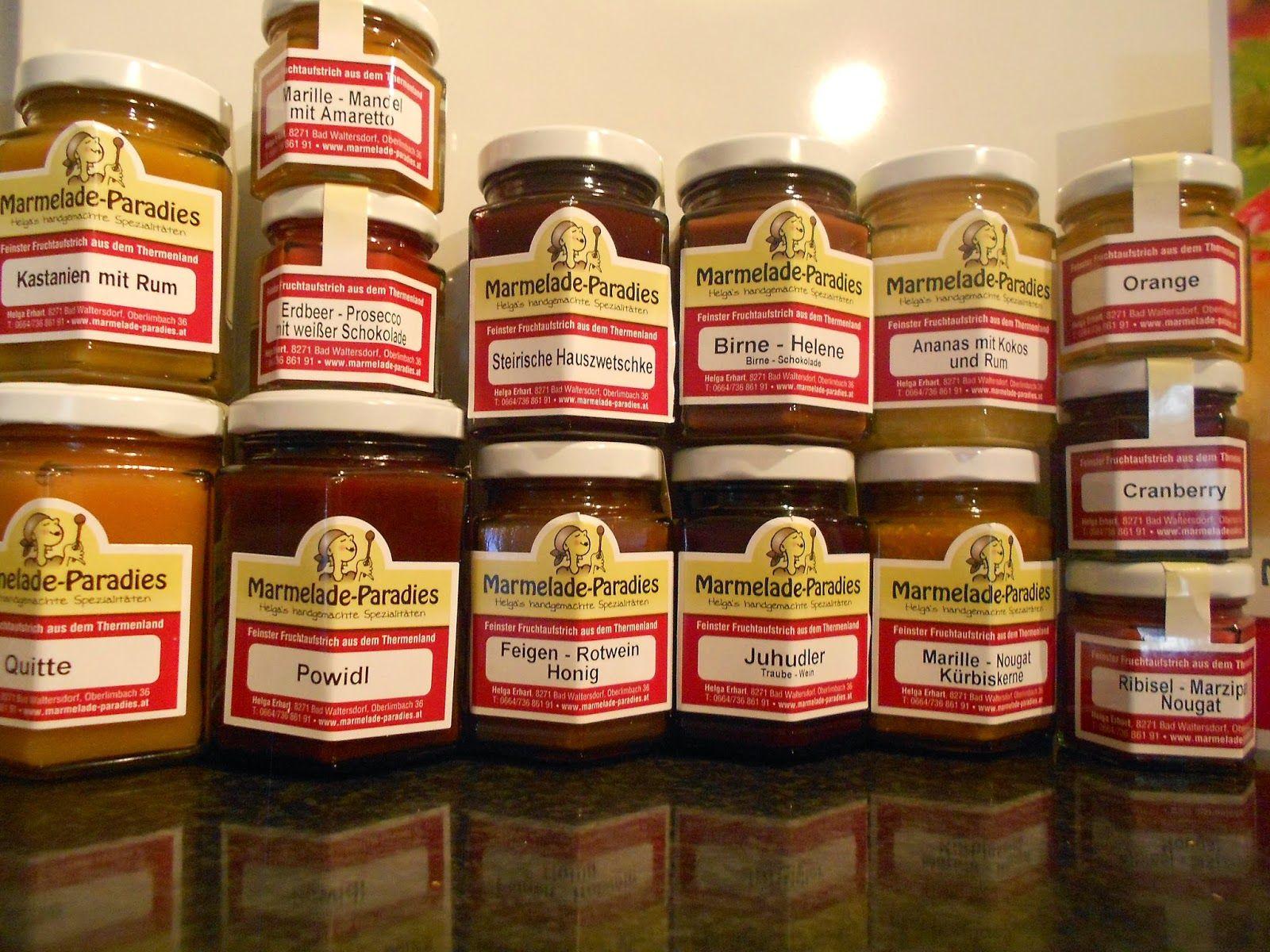 Verboten gut ⚠: Marmelade-Paradies