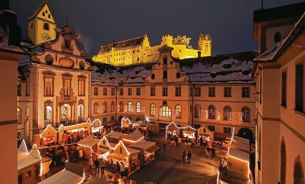 Christmas Market In Fussen 2020 Christmas Market Christmas In Germany Christmas Traditions In Germany