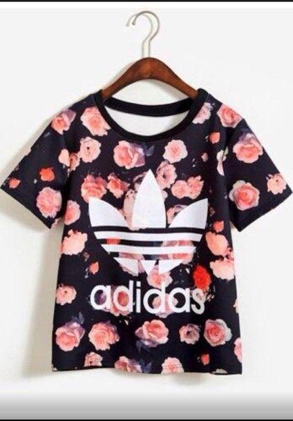 Camiseta adidas con dibujo estampado, la quierooooooo