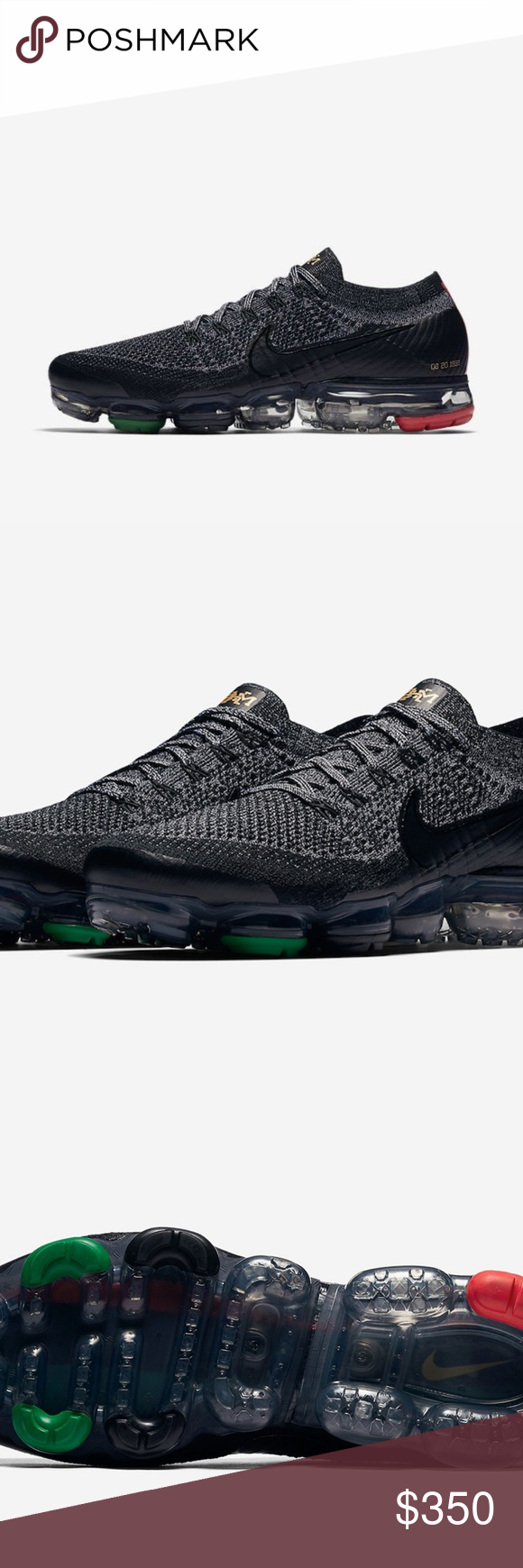 best service b9aec 651ce NEW NIKE VaporMax Black History Month Mens 10 US NEW NIKE ...