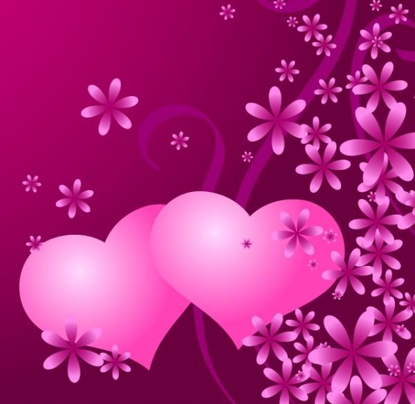 Love Pattern Background Vector Download Pink Wallpaper Iphone Flower Background Iphone Flower Background Wallpaper