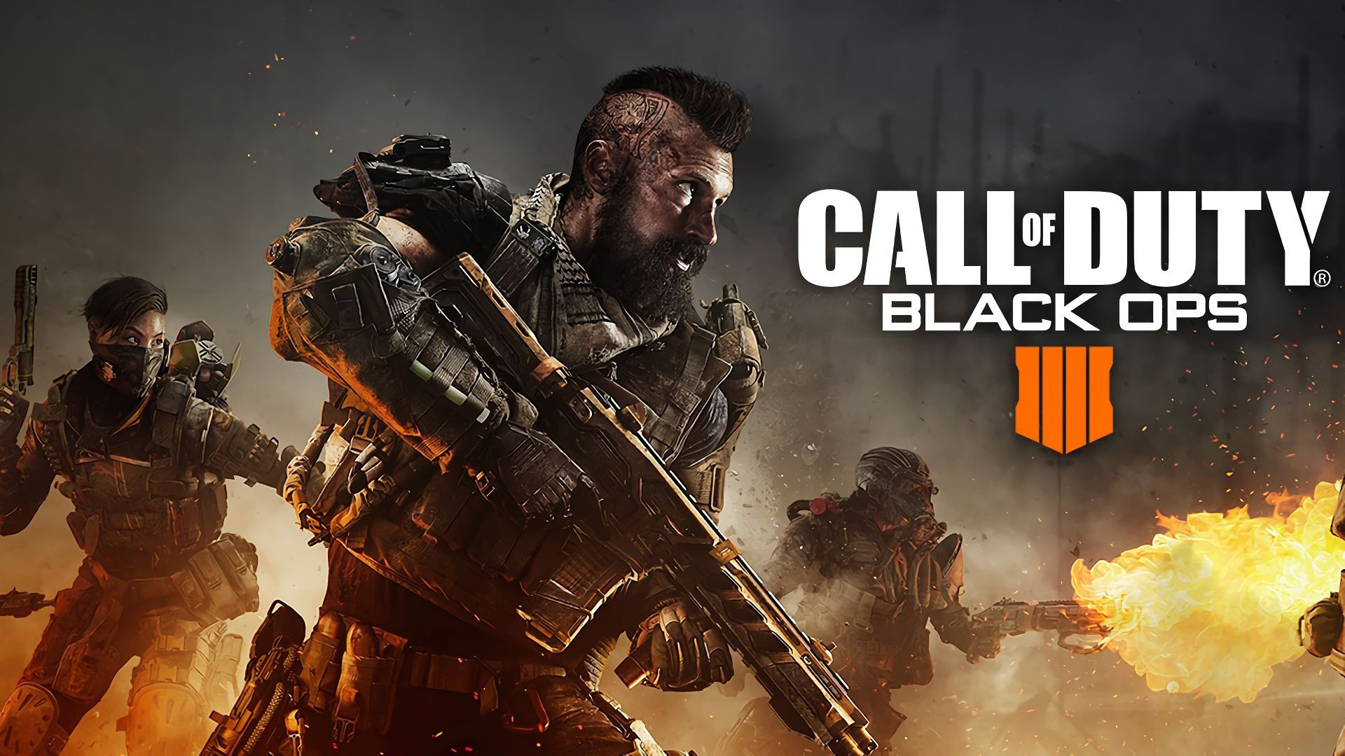 Wallpaper Call Of Duty Black Ops 4 Poster 4k Games 19385