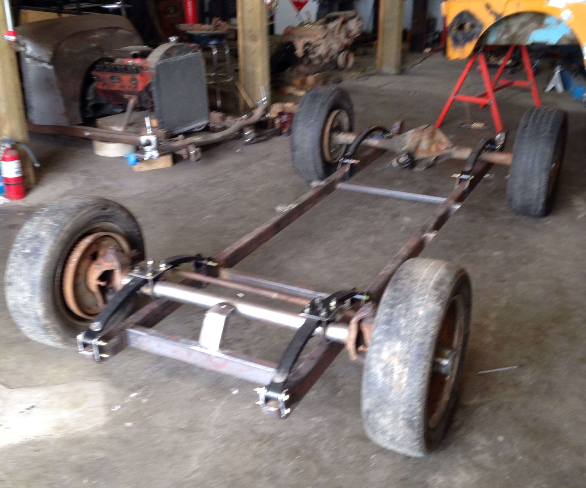 New Frame Ted Auldur Hot Rods Diesel Rat Rod Rat Rod