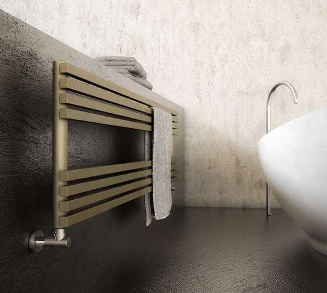 RODLIER-DESIGN présente RADIATEUR TIME de GRAZIANO SCULPTURAL DESIGN made in italy